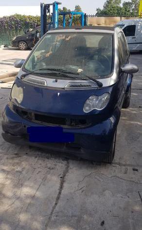 Despiece completo smart city cabrio w450 año 2006