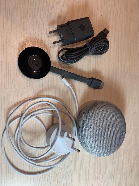 Google chromecast 2 + home mini