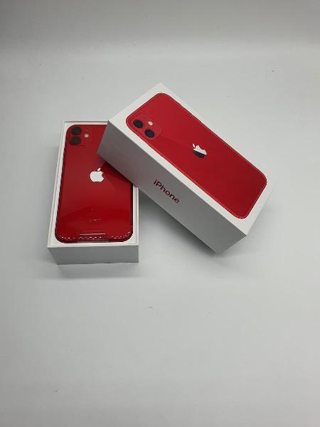 Iphone 11 128gb rojo nuevo