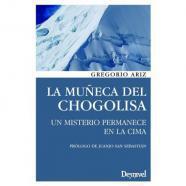 Libro la muñeca del chogolisa - literatura de montaña -