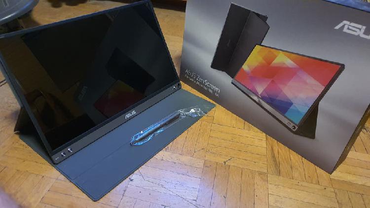 Monitor portátil asus zenscreen mb16a