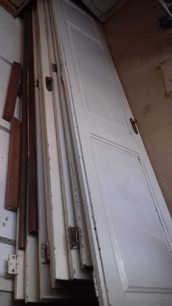 Puertas madera macizas antiguas