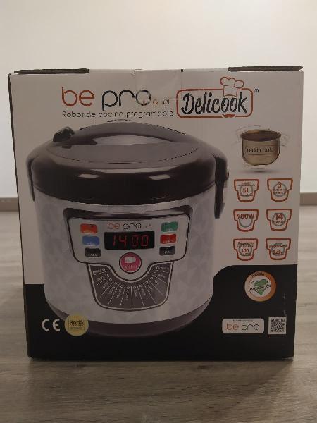 Robot de cocina programable - delicook