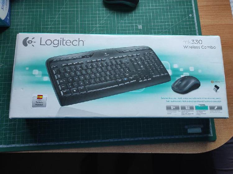 Teclado y ratón: logitech mk330 wireless combo