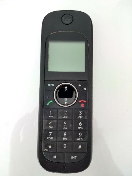 Teléfono inalámbrico motorola d1001+base+cable tlf