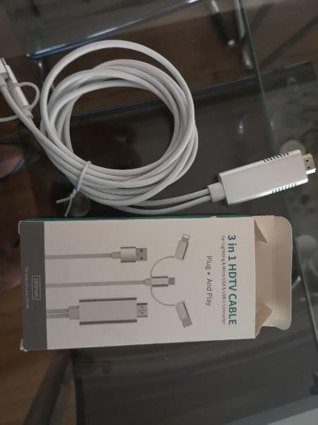 Cable hdtv 3 en 1
