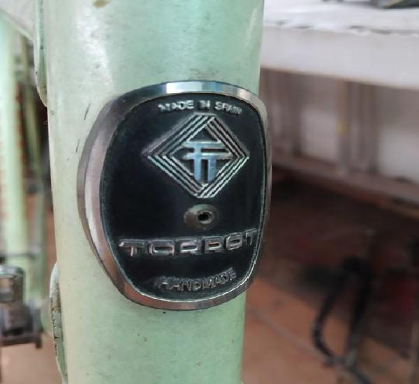Chapa insignia torrot bicicleta carretera, clasica torrot,