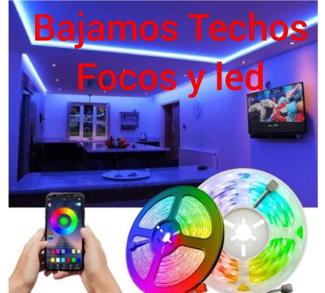 Techos led