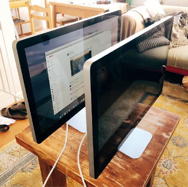 X2 apple thunderbolt display pantallas / monitores