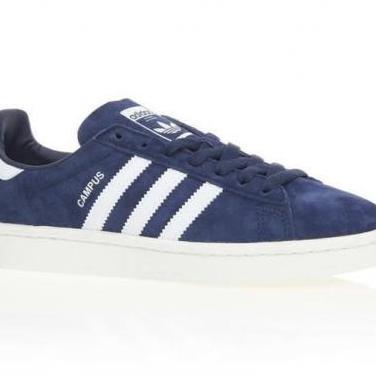Adidas campus sneakers - mujer - azul marino