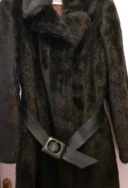 Abrigo piel sintética (se aceptan ofertas)