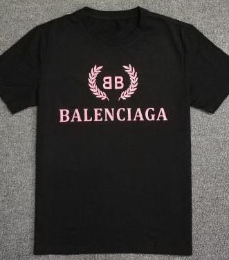 Camiseta balenciaga (black pink)