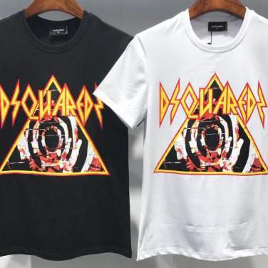 Camiseta dsquared2 (black & white)
