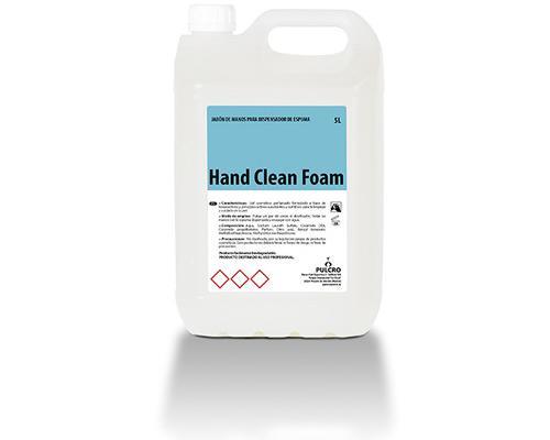Jabón de manos para dosificador de espuma hcf garrafa de 5