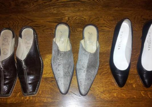 Lote zapatos señora 3 pares nº38