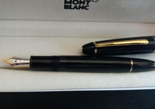 Meisterstück gold pluma estilográfica