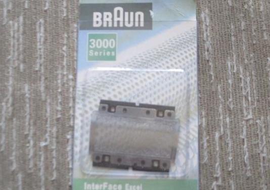 Recambio de lámina para afeitadora braun
