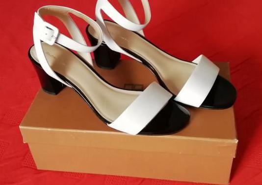 Sandalias de mujer en piel gloria ortiz, talla 40