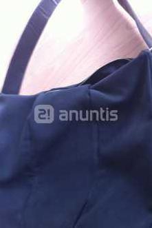 Zara - bolso grande negro , tacto super suave
