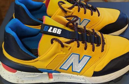 Zapatillas new balance 997s amarillo-negro t 41,5