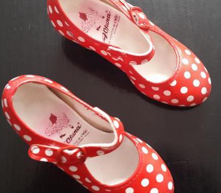Zapatos de baile flamenco infantiles
