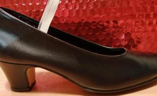 Zapatos de baile flamenco de piel talla 36