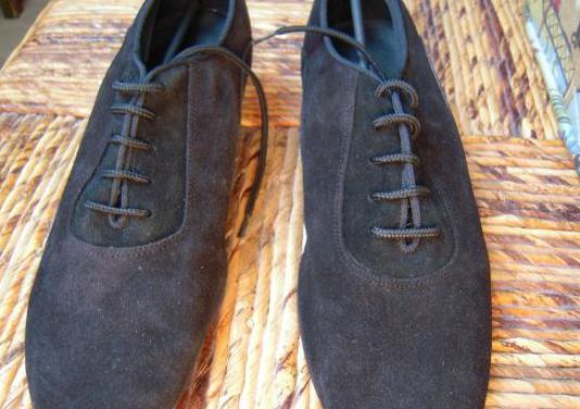 Zapatos de baile para chico de serraje
