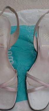 Zapatos fiesta tonos plata marca patini