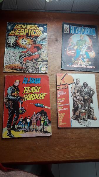 10 comics antiguos tocados