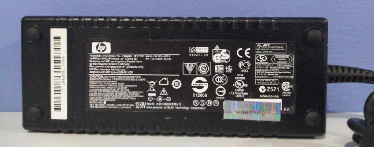 Adaptador corriente hp 135w hp 481420-002 7.1a 19v