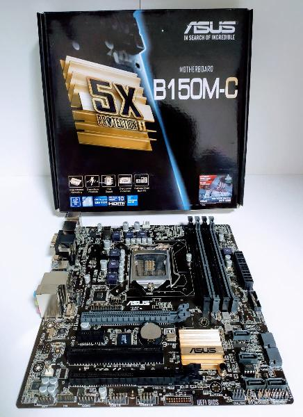 Asus 1151 b150-c placa base intel ddr4 motherboard