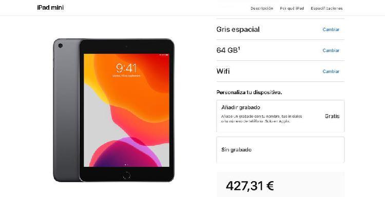 Descuento de estudiante apple macbook, ipad, 5%