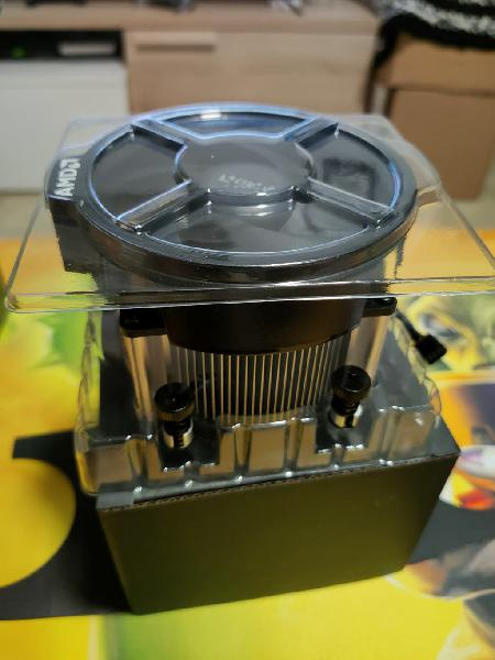 Disipador original amd ryzen 3600xt nuevo sin usar