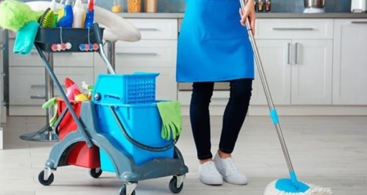 Limpieza, cuidado de niños/mayores