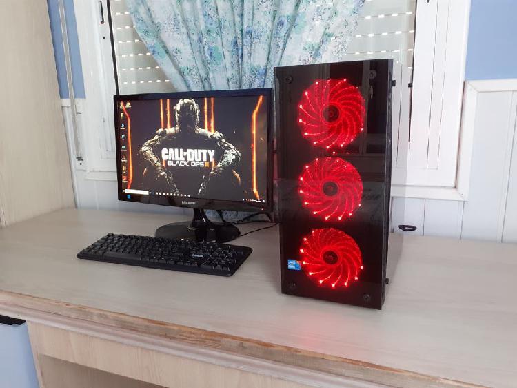 Ordenador gaming i7+gtx1050ti 4gb+ssd 240gb