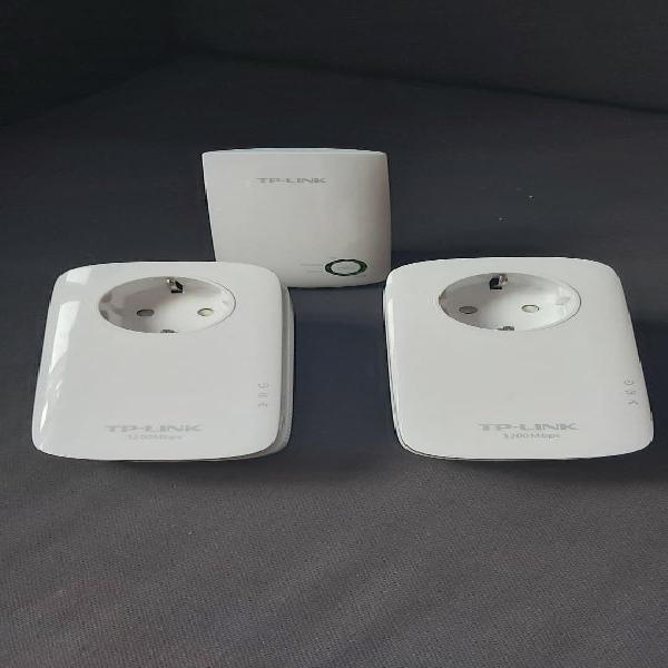Plc tp link +repetidor wifi