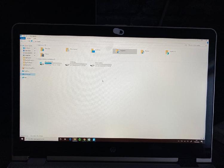 Portatil hp , pantalla tactil : tipo macbook pro