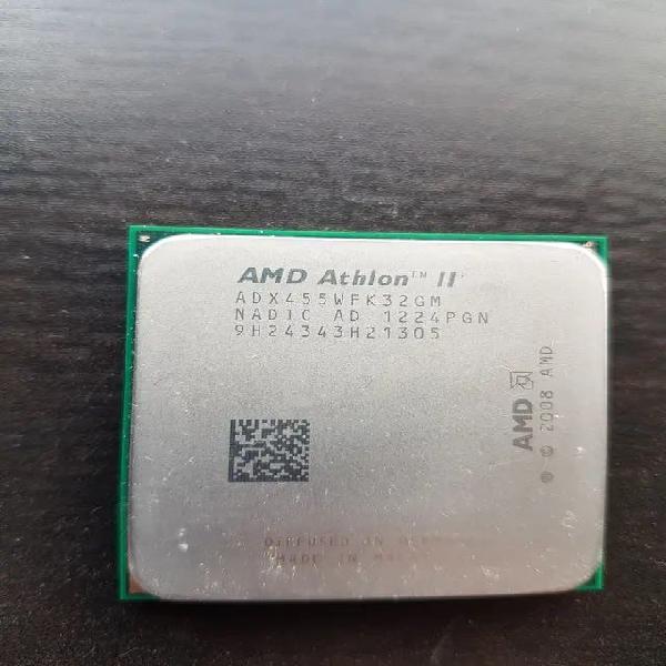 Procesador amd athlon ii x3 455 + disipador
