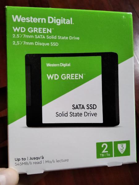 Ssd wd green 2tb precintado