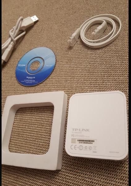 Tp-link router wifi portátil tl-mr3020