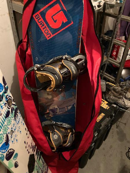 Tablas snowboard y botas