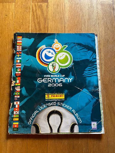 Lbum mundial de fútbol alemania 2006