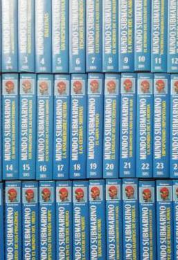 36 cintas vhs mundo submarino