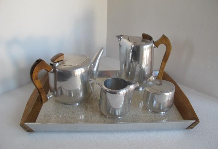 Art deco / picquot ware / made in england / juego de cafe o