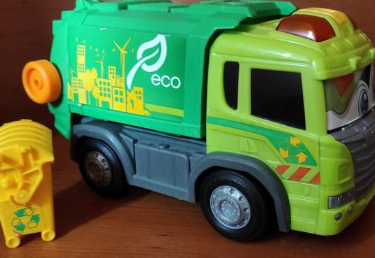 Camión basura dickie toys