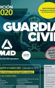 Temario guardia civil mad 2020