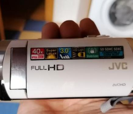 Cámara de video jvc, gz-e205 full hd