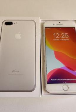 Iphone 7 plus 32gb blanco impoluto