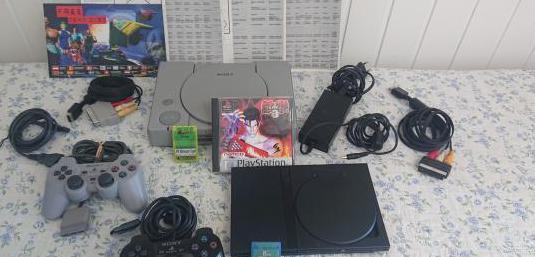Playstation 1 y playstation 2