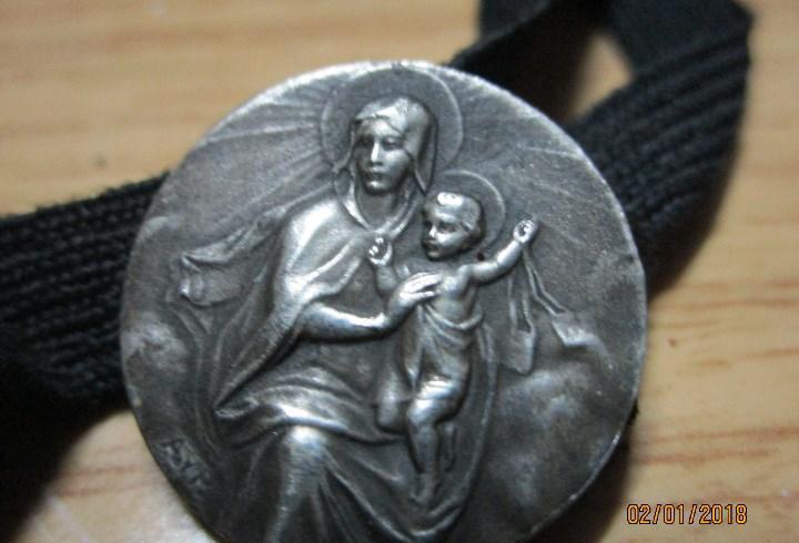 Siglo xix antiguo pasador o medalla cintasujeta libros de